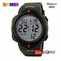 Гарантия! Подарок! Часы skmei 1068 зеленые