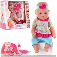 Детская кукла интерактивная пупс Baby Born BB 8001-8