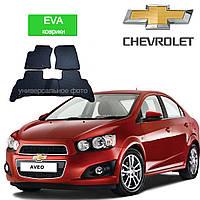 Автоковрики EVA для Chevrolet Aveo