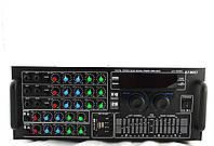 Стерео Усилитель звука UKC AMP 707 BT + FM тюнер / USB порт /Слот для карт памяти SD/MMC