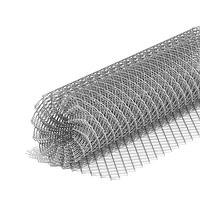 "Сетка ""Рабица"" яч.40-40 мм. h:1.2 м., d:1.5 мм. ченная"