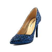 Туфли женские Foletti F-7 сз синяя замша
