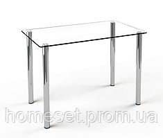 Стол на кухню Простой прозрачный