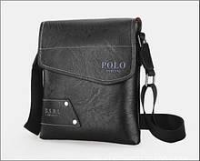 Сумка мужская Polo черная art 8835