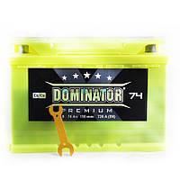 АКБ  6CT-74A Dominator Premium 12V 720A