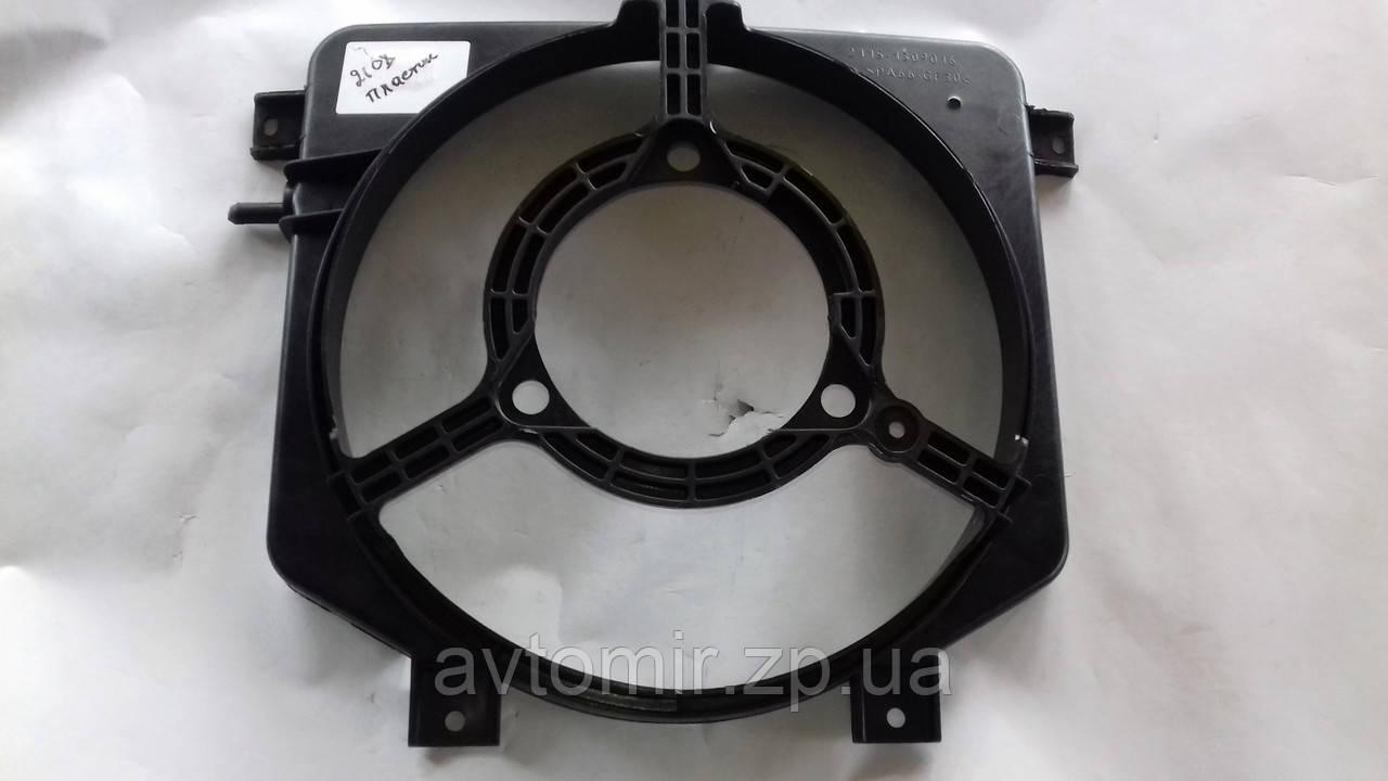 Диффузор радиатора Ваз 2108-2115 голый (пластмас.)