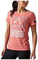 Женская футболка Reebok Graphic TEE, (Артикул: BK2881)