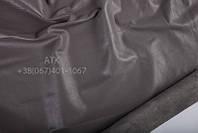 Кожа одежная наппа серый земляной 01-9018
