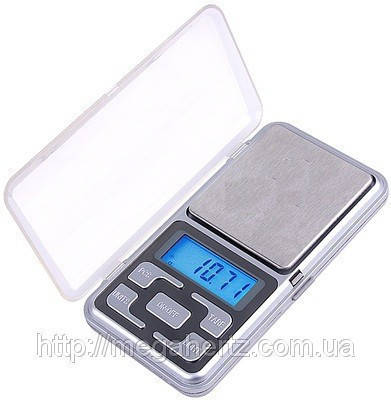 Карманные ювелирные электронные весы 0,01-100 гр, фото 2