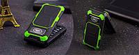 Противоударный защищенный раскладной телефон Land Rover F999 на 2 Sim с батареей 2800Mah
