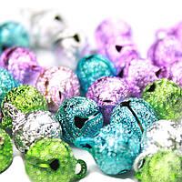 Бубенцы арт. 05/1 шарик с шагренью D 1 см