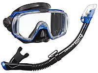 Набор для плавания маска + трубка TUSA VISIO TRI-EX