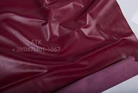 Кожа одежная наппа красный рубин 01-9023