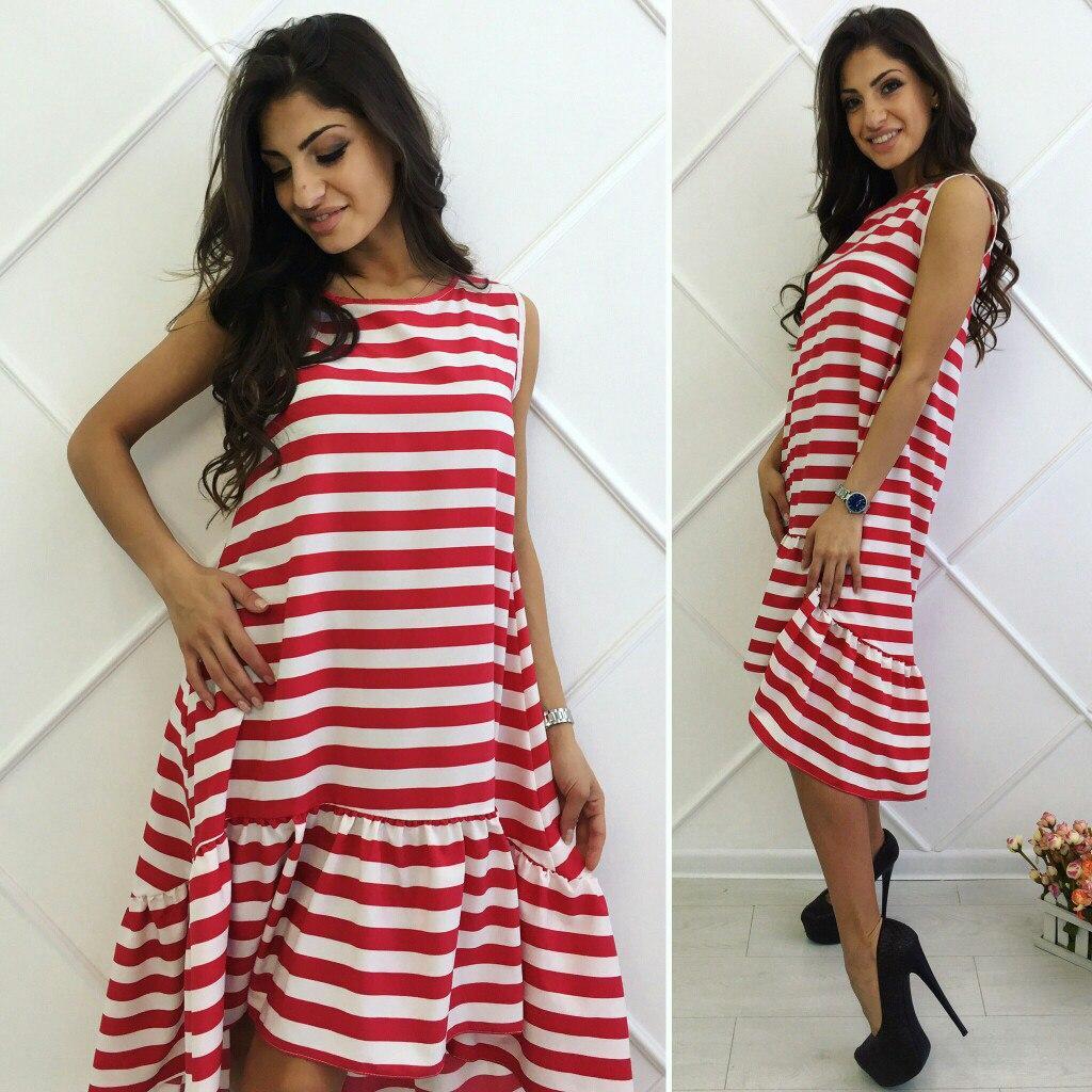 458920802fb7 Полосатое платье Цвета Батал ГО  продажа, цена в Одессе. платья ...