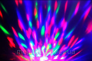 Диско лампа вращающаяся LED lamp для вечеринок LY-399, фото 2