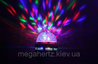 Диско лампа вращающаяся LED lamp для вечеринок LY-399, фото 3