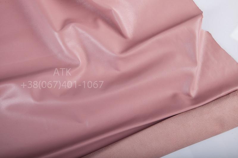 Кожа одежная наппа розовая