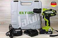 Шуруповерт акумуляторний Eltos ТАК-18Н, фото 1