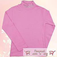 Розовая водолазка с камушками для девочек Размеры: от 7 до 13 лет (5450-3)