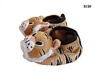 Пинетки-тапочки Тигр для мальчика. 9,5 см, фото 1