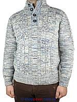 Зимний мужской вязаный свитер Borsari 0560 Н