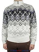 Мужской стильный вязаный свитер Pulltonik P-230-229 Н