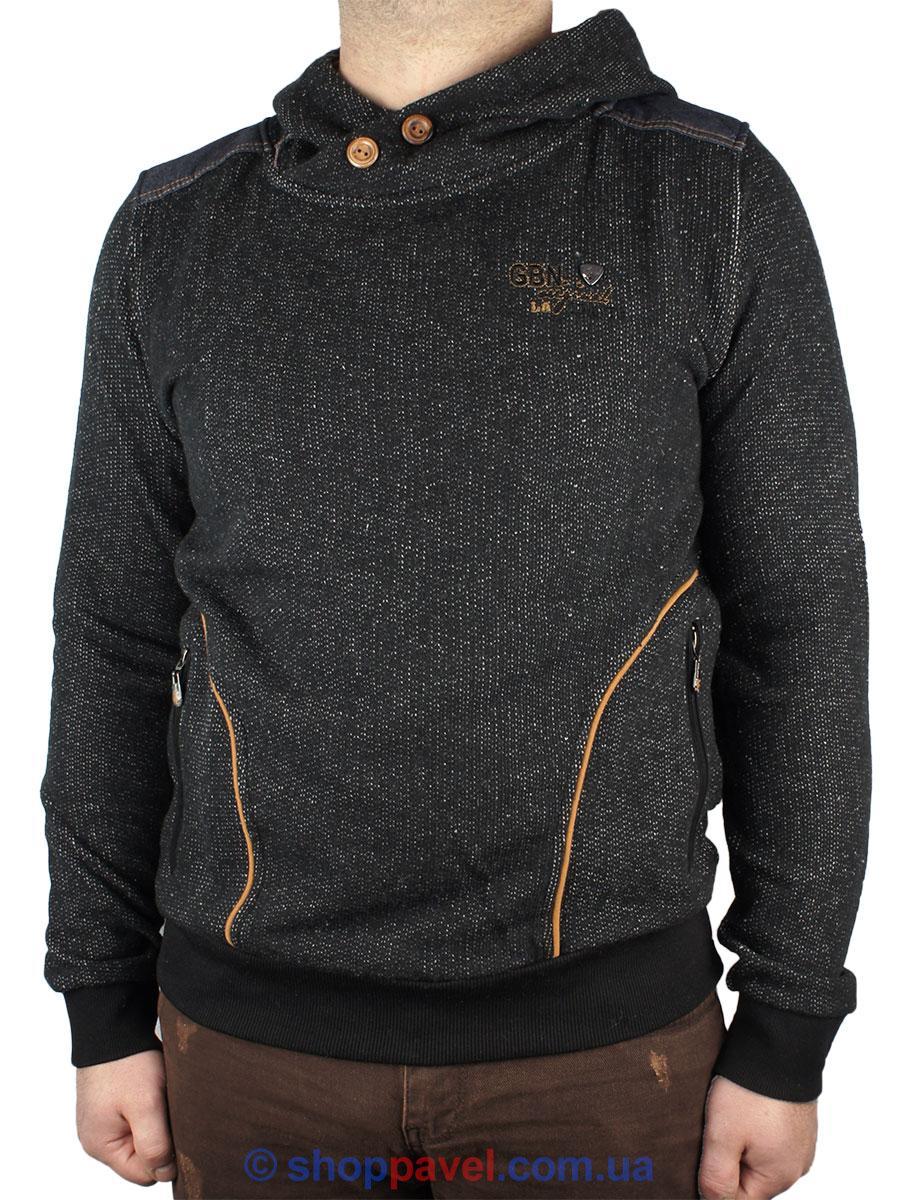 Стильный мужской свитер Maxway с капюшоном 6122 Н