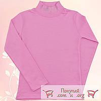 Розовая водолазка с камушками для девочек Размеры: от 7 до 13 лет (5454-2)