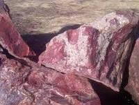 Камень бут розовый