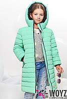 Детская зимняя куртка  X-Woyz! DT-8248-7 мята