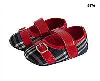 Пинетки-туфли для девочки. 12, 13 см, фото 1