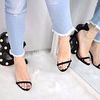 Босоножки женские Vices Ringo черные 3395, сандалии женские