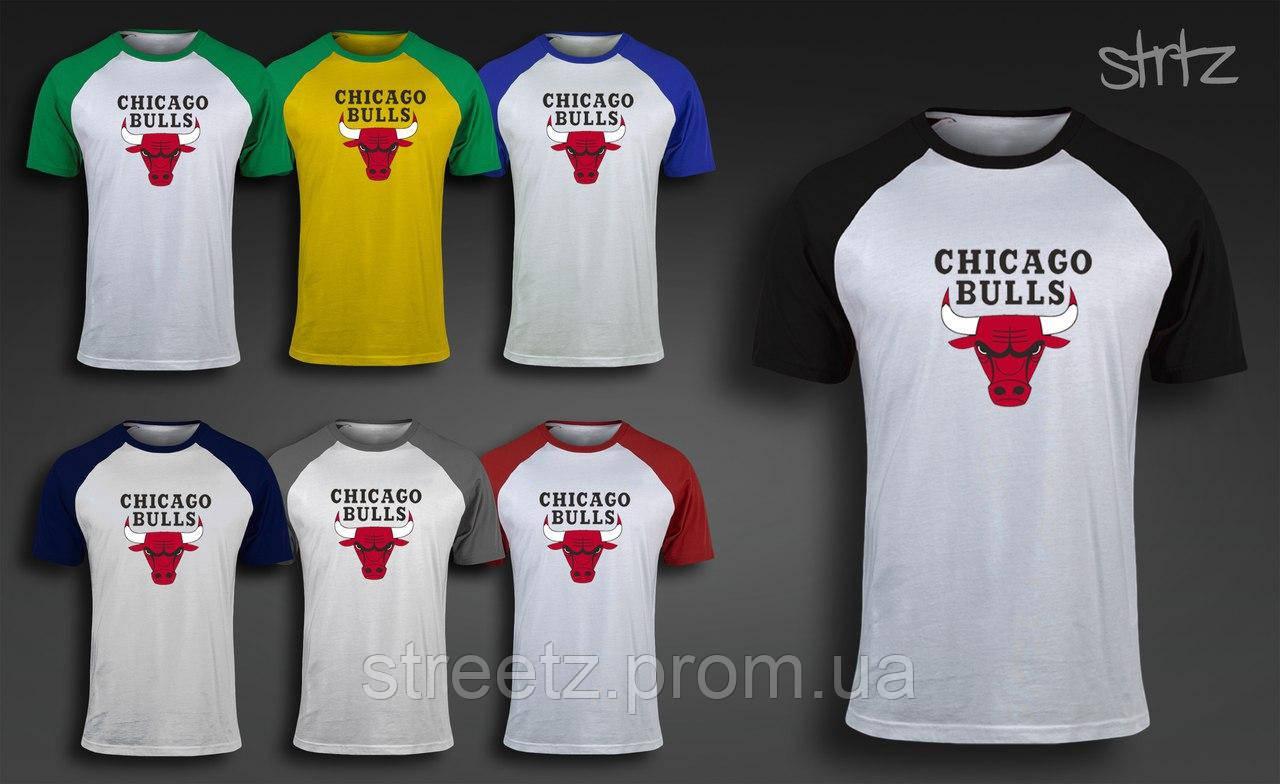 Чоловіча футболка Chicago Bulls Raglan T-Shirt