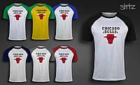 Мужская футболка Chicago Bulls Raglan T-Shirt