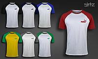 Мужская футболка Puma Raglan T-Shirt