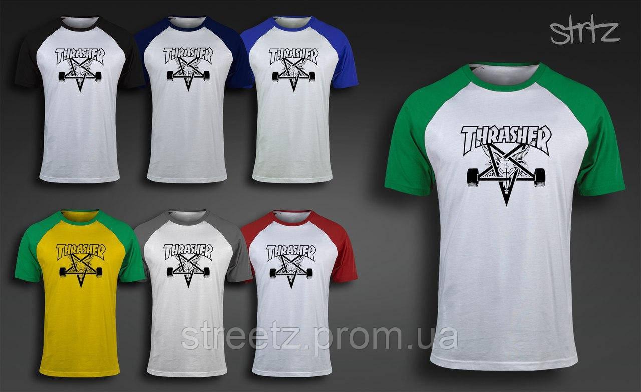 Мужская футболка Thrasher Raglan T-Shirt