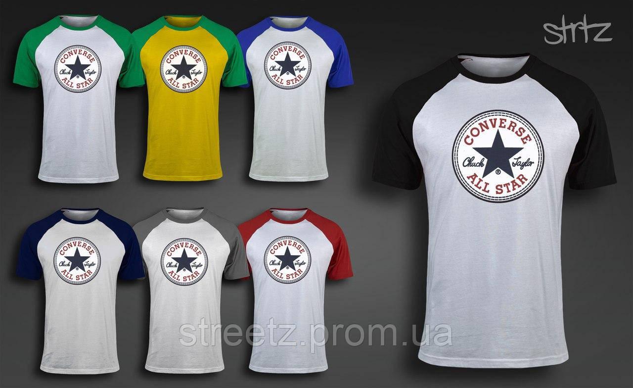 Чоловіча футболка Converse Raglan T-Shirt