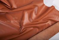 Кожа одежная наппа оранжево-коричневый 02-3110