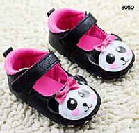 """Пинетки-туфли """"Панда"""" для девочки. 11;  12;  13 см, фото 1"""
