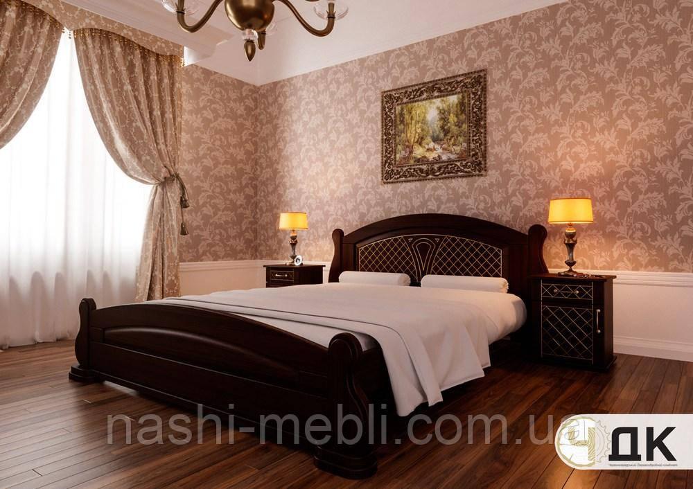 Двоспальне ліжко Женева