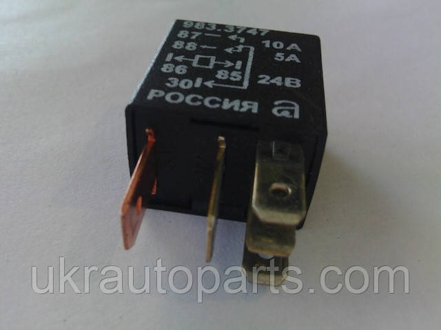 Реле блока коммутации МАЗ (аналог YLE 24В 25А) (5А/10А 5 контактн.) (YL-398-24V-C-R)