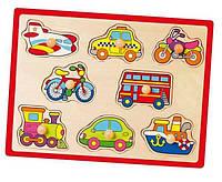 Деревянный пазл  Транспорт 50016 Viga Toys