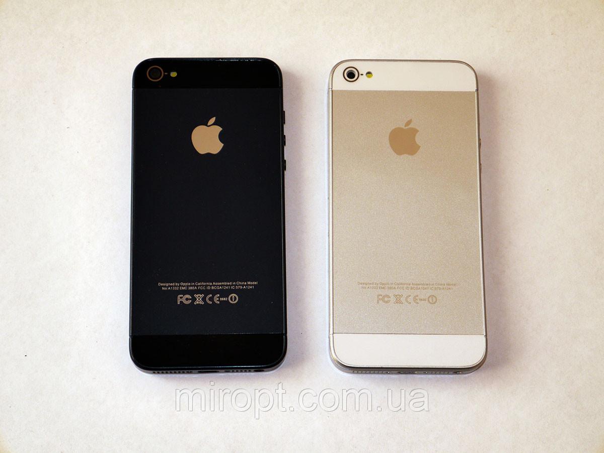 "Телефон IPhone 5S i5 -4"" емкостной сенсор -  2Sim МТК6575 ANDROID 4.1"