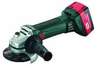 Аккумуляторная угловая шлифмашина Metabo W 18 LTX 125 (602174610) 4.0 Ач