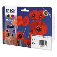 Картридж Epson T17 Expression Home XP-33/103/203/207/303/306/403/406 (C13T17064A10), BkCYM