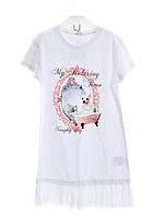 Трикотажное платье-туника на девочку Gaialuna