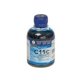 Чернила WWM для CANON CL-511/513/CLI-521C/CLI-426C (Cyan) C11/C 200г