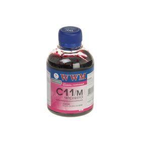 Чернила WWM для CANON CL-511/513/CLI-521М/CLI-426M Magenta C11/M 200г