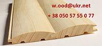 Блок хаус (сосна) 35мм х 130 мм х 4000/4500 мм
