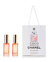 Парфюм в подарочной упаковке Coco Mademoiselle Chanel Ж 40 мл(2шт по 20 мл)